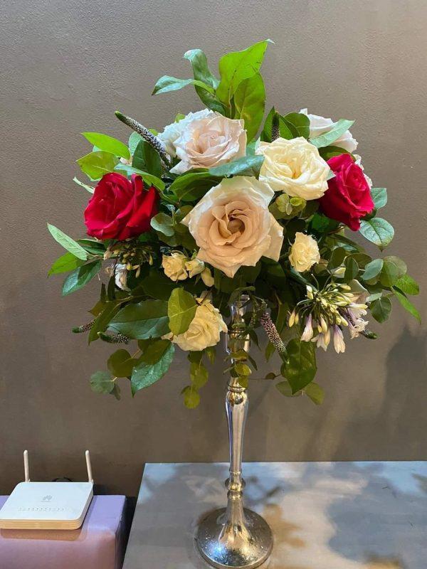 Aranjament floral masa PTR nunta