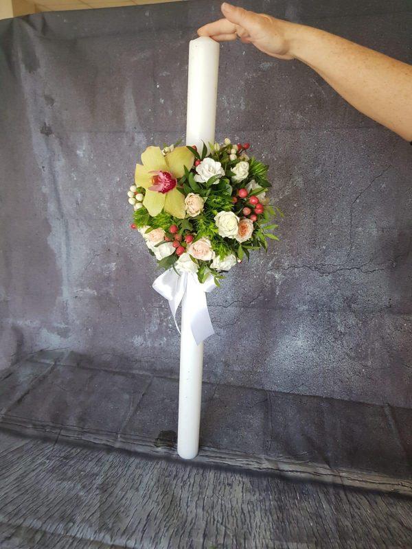 Lumânare înaltă nunta