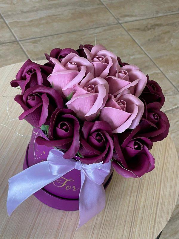 Flori de sapun – Florarie Navodari – Constanta. Comenzi la telefon 0727.870.896 si online. Plata cu cardul.Livrari flori Navodari, Constanta