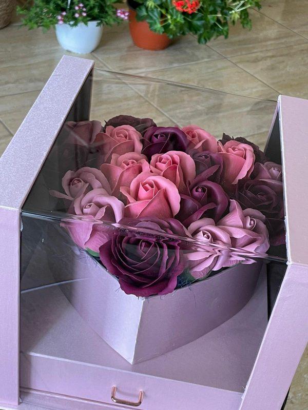 Trandafiri săpun Romance
