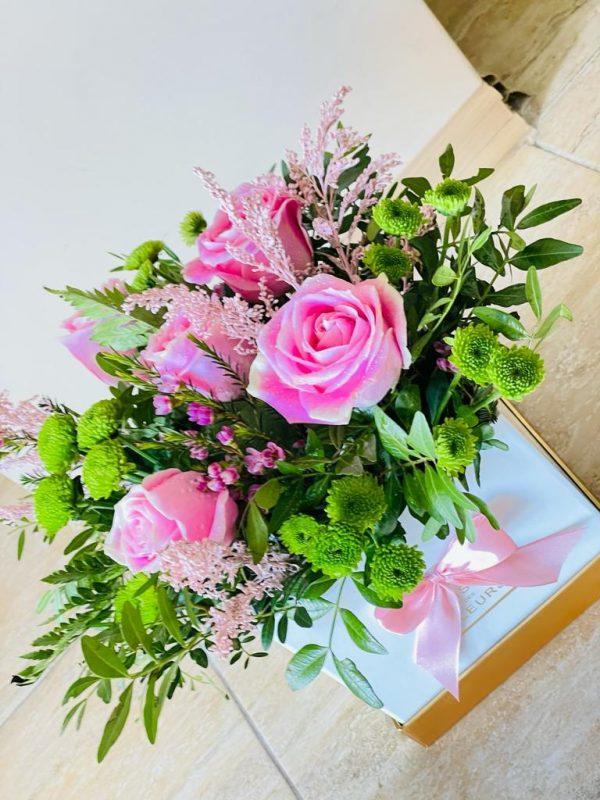 Cutie flori Pink Roses