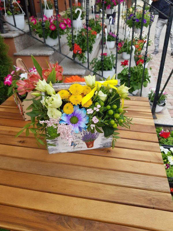 Cutie flori Amalia