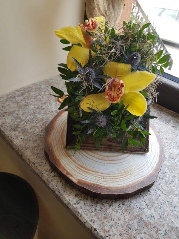 Rama vitange flori naturale