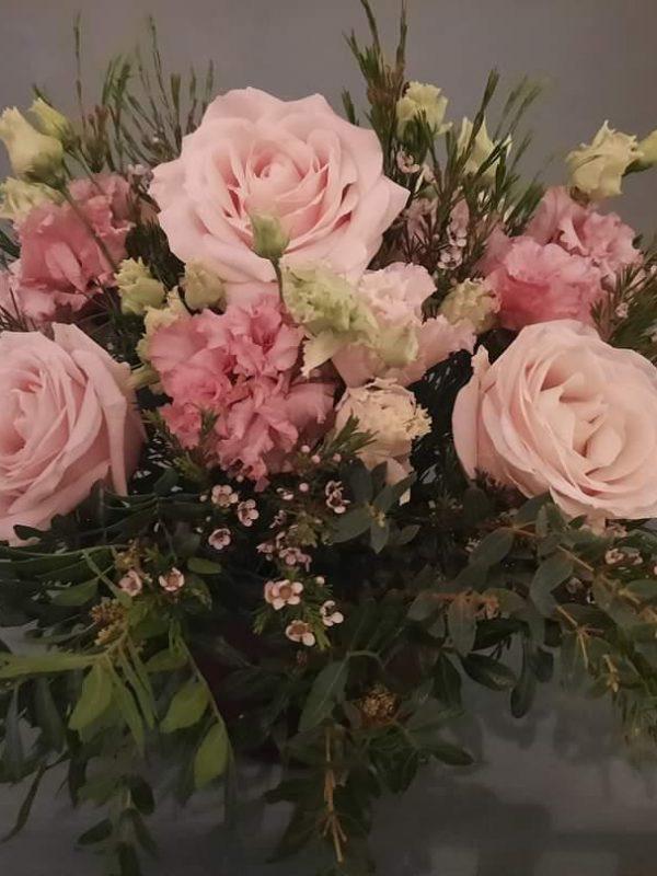 Aranjament floral delicat